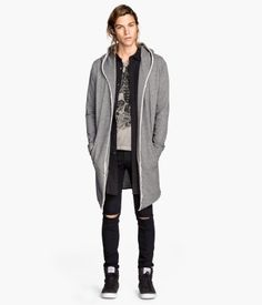 Sweatshirt Cardigan | Fashion for le boyfriend | Pinterest