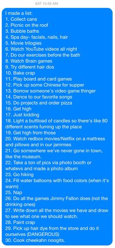 Non-girly things to do with your best friend.