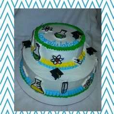 All about chemistry icing transfer cake