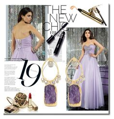 Sweetheart Sleeveless Tulle Prom Dress by johnnymuller on Polyvore featuring Yves Saint Laurent