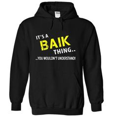 I Love Its a BAIK Thing! Shirts & Tees