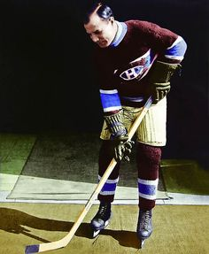 """At the turn of the 20th century Newsy Lalonde was """"the"""" big Montreal Canadien star. Lalonde scored the first ever Montreal Canadien goal in 1909. He starred on the first ever Stanley Cup winning Canadien team in 1916 when the Canadiens defeated the Portland Rosebuds three games to two.  You can do it, Montreal!"""