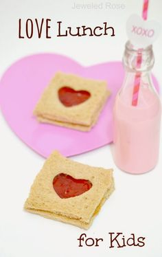 Say I Love you this Valentine's Day with a fun LOVE LUNCH