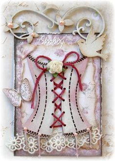 Such a Pretty Mess: September ATC ~ Shabby-Chic {Dusty Attic}
