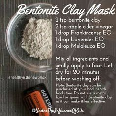 Have you ever used bentonite clay to detox? Many use it internally but you can also use it on the skin When Bentonite Clay is combined with water and left to dry on the skin as a clay mask the clay is able to bind to bacteria/toxins living on the surface of the skin and within pores to extract these from the pours. This helps to reduce the outbreak of blemishes alleviate redness and also to fight allergic reactions from irritating lotions or face washes. #healthyisthenewblack