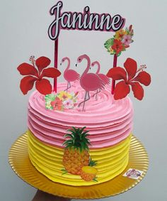 More decorating ideas on albums: Flamingo Party 1 Flamingo Party 3 13th Birthday Party Ideas For Girls, Birthday Cake For Mom, 40th Birthday Parties, Birthday Party Decorations, Birthday Cakes, Flamingo Party, Flamingo Cake, Flamingo Birthday, Birthday Breakfast For Husband