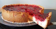 Pudding-Schmand-Kuchen mit Himbeertopping, ein Rezept der Kategorie Backen süß. Mehr Thermomix ® Rezepte auf www.rezeptwelt.de