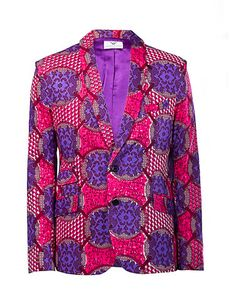 African inspired fashion on sale, buy sale African menswear blazers, shirts, trousers, dashki African Inspired Fashion, African Men Fashion, Mens Fashion, Bohemian Style Men, African Attire, African Suits, Purple Haze, Pink Purple, Magenta