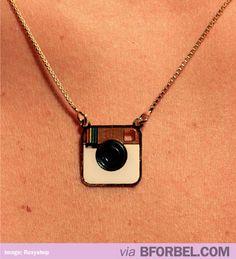 Super pretty Instagram Necklace!