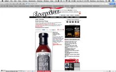 Big Ed's Heirloom BBQ Sauce Makes Esquire Magazine Great American Things List