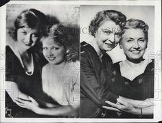 then (1921) & now (1956) Jane & Eva Novak