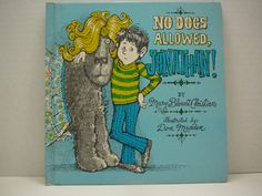 No Dogs Allowed Jonathan 1975 Mary Blount by VintageBookMarket, $6.00