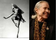 Maria Tallchief, first Native American to become prima ballerina. From 1942 to 1947 she danced with the Ballet Russe de Monte Carlo, but she is even better known for her time with the New York City Ballet, from its founding in 1947 through 1965. C/o Julie M.