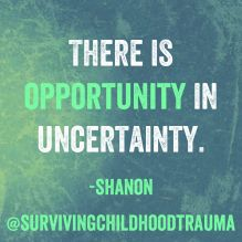 Adjusting to a new normal in the face of uncertainty, and powerlessness while managing a behemoth called PTSD. But there is Opportunity in Uncertainty. #PTSD #PTSDAwareness #MentalHealthAwareness #Depression #Trauma #EmotionalProcessing #Selfcare #MotivationalMemes #SelfIsolatingwithMentalIllness Ptsd Awareness, Mental Health Awareness, One Liner Quotes, Ptsd Quotes, Motivational Memes, Complex Ptsd, Dissociation, I Want To Work, Hard To Get