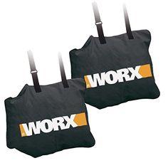 Worx 2 Pack 50015035 Trivac Collection Bag for WG500 WG501 WG502 WG508  500150352pk *** Visit the image link more details.