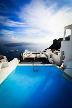 The Caldera Pool - Fira, Santorini