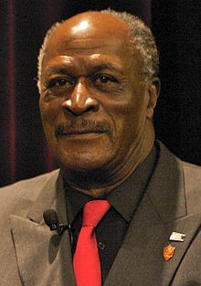John Amos - is a veteran of the 50th Armored Division of the New Jersey National Guard and Honorary Master Chief of the U.S. Coast Guard.