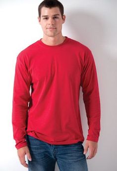 Classic Long Sleeve. Comes in many colors.