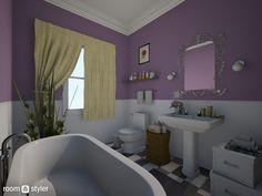 Roomstyler.com - monica friends bathroom