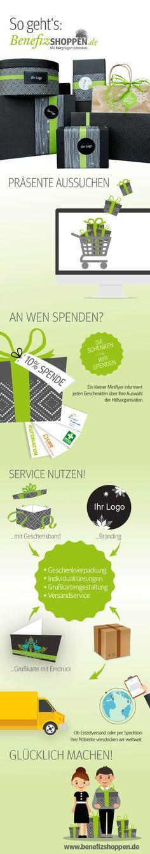 So geht benefizshoppen! www.benefizshoppen.de