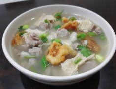 Indonesian Food, Vegetable Recipes, Cheeseburger Chowder, Recipies, Food And Drink, Menu, Soup, Homemade, Vegetables