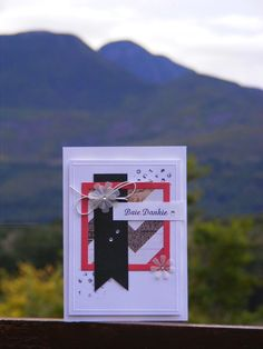 I love the design elements in this card - Kaartjie kreatief / Cards creative: Gift cards