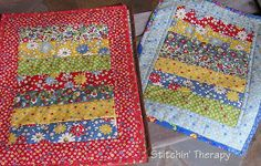 Stitchin' Therapy: Doll Quilts