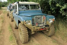 SERIE 3 with SALVADOR DALI-STYLE MUSTACHES Land Rover 88, Land Rover Defender, 1999 Jeep Wrangler, Muscle Truck, Best 4x4, Four Wheel Drive, Ford Bronco, Defenders, Range Rover