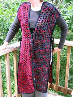 Ravelry: Half and Half Tabard pattern by Kathy North
