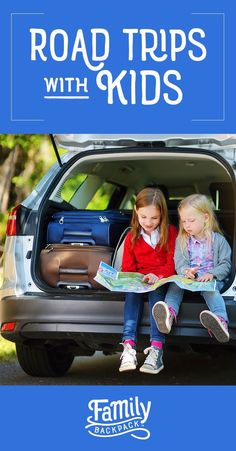 Road Trips with Kids : Awesome activities for toddlers and kids to survive your next long car ride! Theses tips and ideas are sure to bring the fun back to family road trips, while minimizing stress for everyone on board.