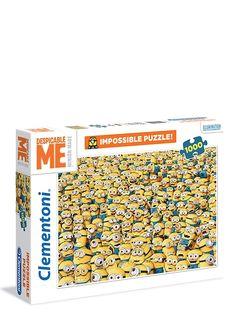 Tämä haastava Minions-palapeli (1000 palaa) on keltaisia kätyreitä tulvillaan! Löytääkö niistä jokainen oman paikkansa? Tuhannen palan palapelissä riittää hauskaa pähkäiltävää pitkäksi aikaa!