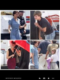 May 24, 2011. The day filming for The Hunger Games started.