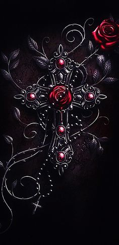 Dark cross Wallpaper by - 98 - Free on ZEDGE™ now. Browse millions of popular cross Wallpapers and Ringtones on Zedge and personalize your phone to suit you. Browse our content now and free your phone Cross Wallpaper, Gothic Wallpaper, Heart Wallpaper, Love Wallpaper, Cellphone Wallpaper, Wallpaper Backgrounds, Gothic Artwork, Phone Backgrounds, Purple Love