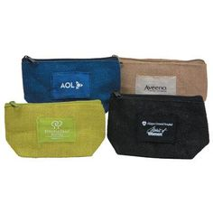 These custom made jute bags are not only eco friendly, but can be used as a carry case or a cosmetic bag! #FemmePromo #Privatelabelcosmeticbags