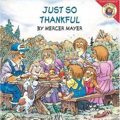 Just So Thankful (Little Critter): Mercer Mayer: 9780060539504: Amazon.com: Books