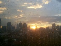 Sunset After rain.