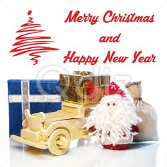 Qdiz Stock Images Christmas greeting card,  #auto #automobile #background #beard #box #car #card #celebration #Christmas #classic #Claus #Clause #closeup #decoration #delivery #eve #Father #figure #frost #fun #funny #gift #gold #greeting #holiday #light #little #Merry #new #old #postcard #pouch #present #red #retro #sack #Santa #small #toy #traditional #transport #transportation #vehicle #vintage #white #wood #xmas #year #yellow