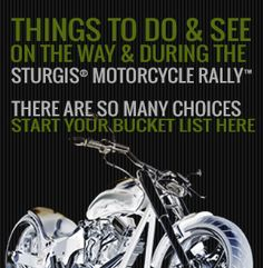 Things to do and see during the Sturgis Rally