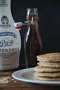 Califia Farms Almond Milk Pancakes, www.mountainmamacooks.com