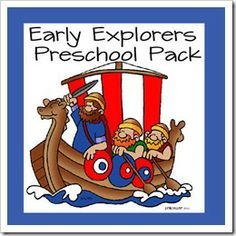 First Book in curriculum is Leif the Lucky  Early Explorers Preschool Pack-- I'm sure there are some things we could use out of here as well