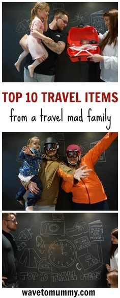 The top travel items every family should remember to pack - and why. A light-hearted take on things to remember to include when packing for family travel.