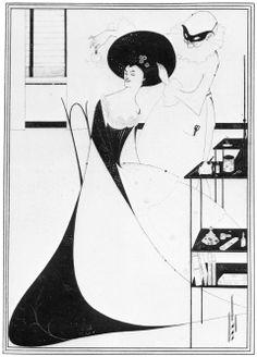 Aubrey Vincent Beardsley - Salome, Die Toillette der Salome [1]