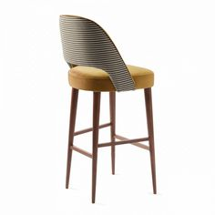 Light Luxury Ins Style Modern Bar Stool Bar Stool High Stool Home Dining Chair Western Restaurant Cafe Seat (Color : A) Island Chairs, Stools For Kitchen Island, High Bar Stools, High Stool, Cafe Seating, Lounge Seating, Upholstery Fabric For Chairs, Chair Fabric, Dinning Chairs