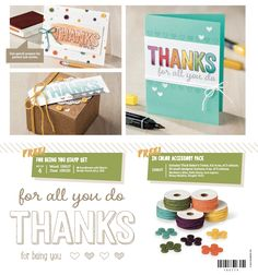 Gothdove Designs - Alison Barclay - Stampin' Up! Australia - NEW Sale-A-Bration product! Order with me here: http://www3.stampinup.com/ECWeb/default.aspx?dbwsdemoid=4005459