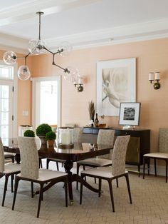 If you are looking for dining room living room paint ideas you've come to the right place. We have 31 images about dining room living room paint ideas Peach Living Rooms, Peach Rooms, Room Colors, Living Dining Room, Living Room Dining Room Combo, Dining Room Paint, Boho Living Room Decor, Colourful Living Room Decor, Dining Room Colors