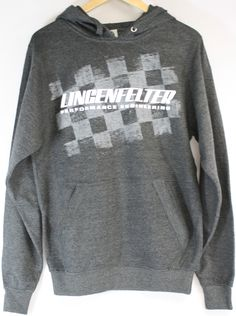 Lingenfelter Checkered Flag Hoodie - Soft Cotton, www.lingenfelter.com (260) 724-2552 #Lingenfelter #Corvette #Camaro #Chevy #Horsepower