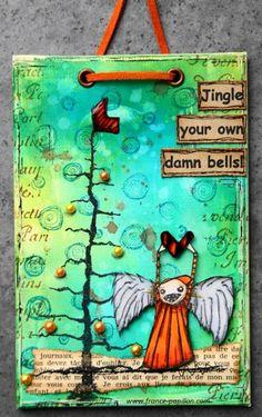 papillon sur la branche