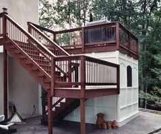 Under Deck Storage | Under Deck Ideas | Atlanta Decking and Fence