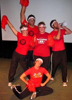 DIY Group Costume Cheerleaders