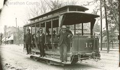 Wausau, Marathon County, WI trolley...  From the photo archives of Marathon County Historical Society. http://www.marathoncountyhistory.org